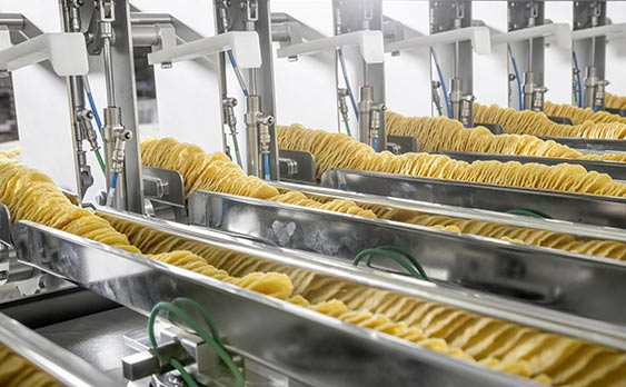 Selling Chips production line