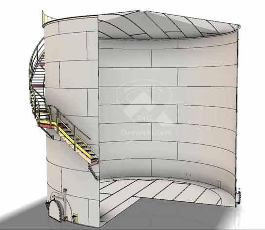 طراحی مخزن ذخیره
